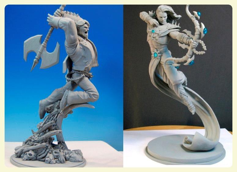 Аниме фигурки из полимерной глины своими руками 61