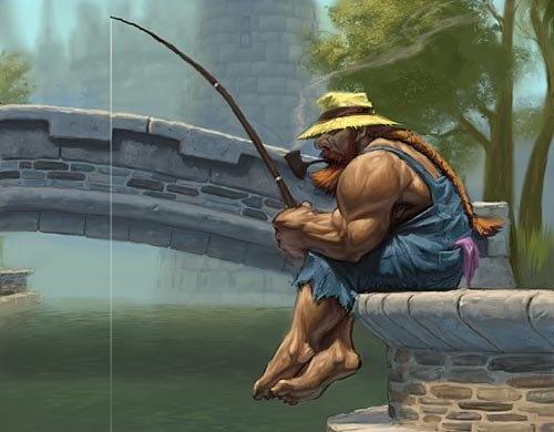 прокачивает рыбалку