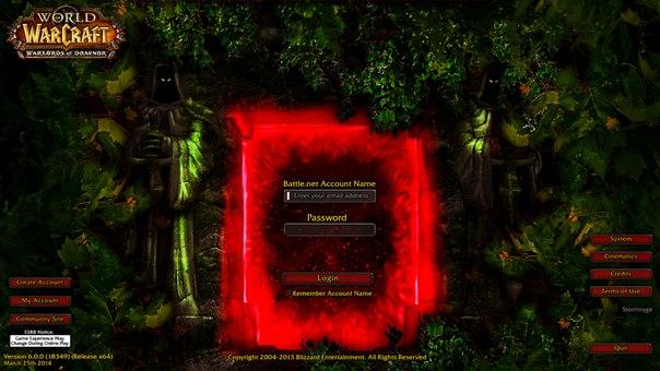 Как сделать свой сервер wow warlords of draenor