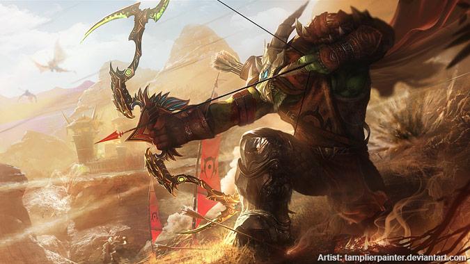 Что ждет охотников в «Легионе»? Orc_marksman_hunter