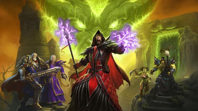 История WoW: Гробница Саргераса Warcraft_medivh_tcg