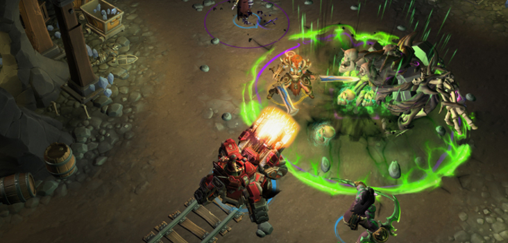 Big heroes haunted mines header