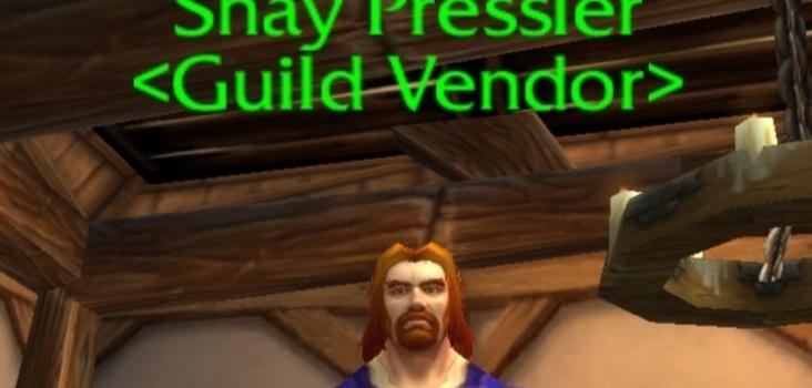 Big stormwind guild vendor