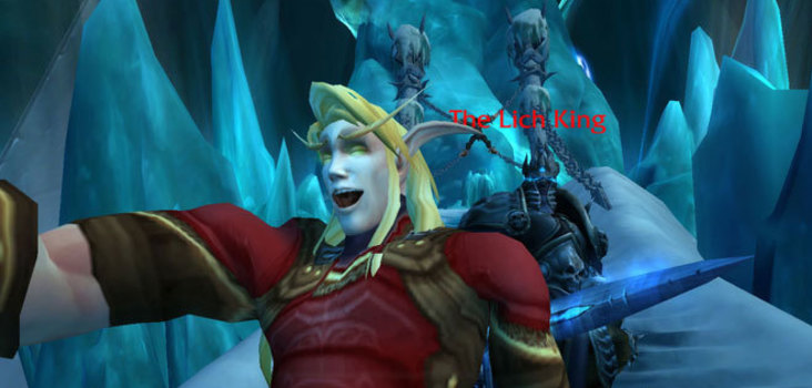 Big selfie with the lich king