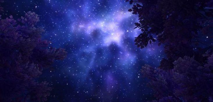Big ah night sky draenor 1