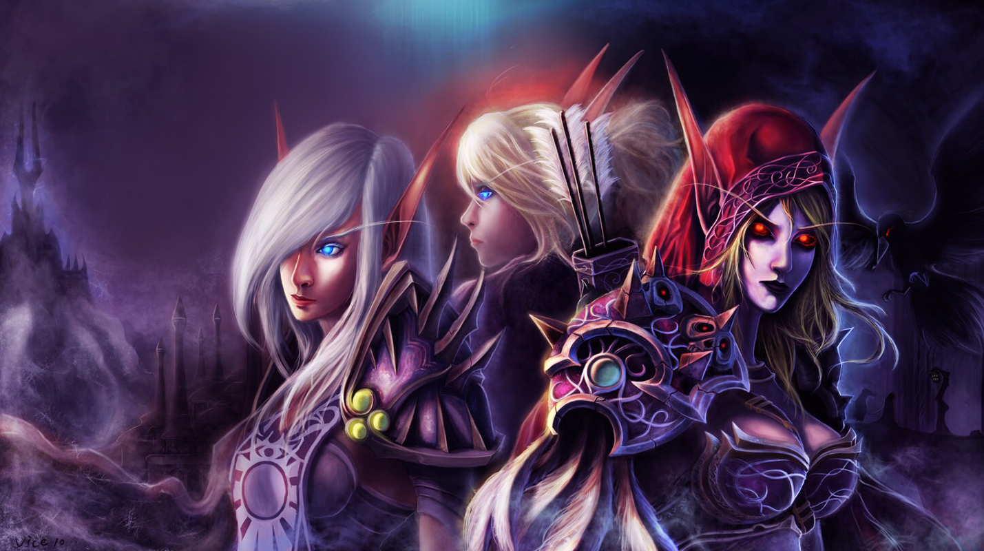Whorecraft jaina and sylvanas erotica scene