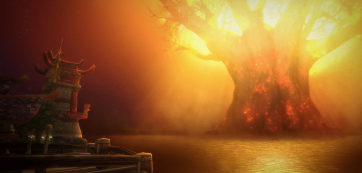 Big teldrassil burning header cinematic 1