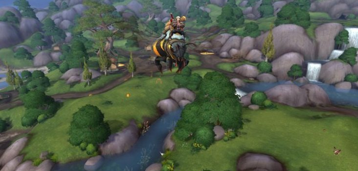 Big bee mount 1
