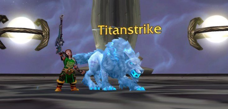 Big titanstrike and hati
