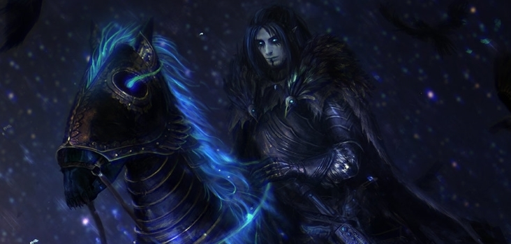 Big raven knight by solaice d85p3no