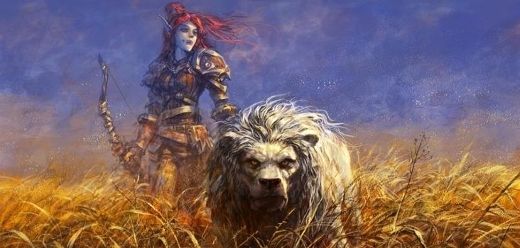 Big women world of warcraft redheads hunter fantasy art blizzard entertainment artwork trolls yaorenwo www.wall321.com 95