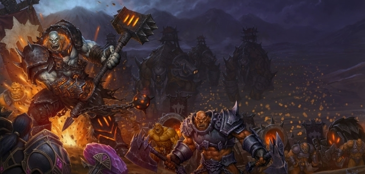 Big world of warcraft warlords of draenor box art by arsenal21 d86g2qf