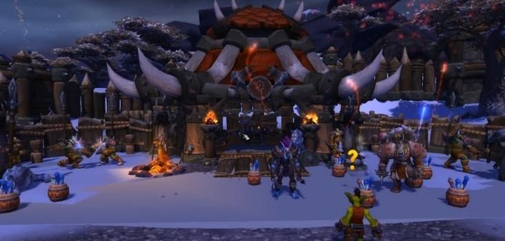 Big warlords of draenor garrison build barracks 4