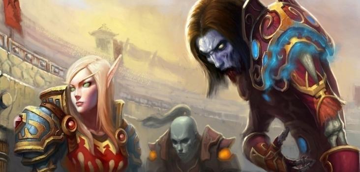 Big world of warcraft arena