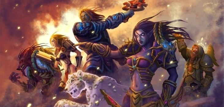 Big video games world of warcraft hunter archers weapons human blade fantasy art armor books elves pries www.wall321.com 7
