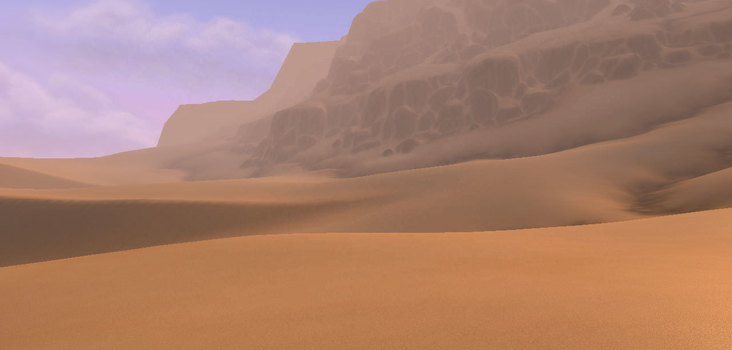 Big the deserts of uldum